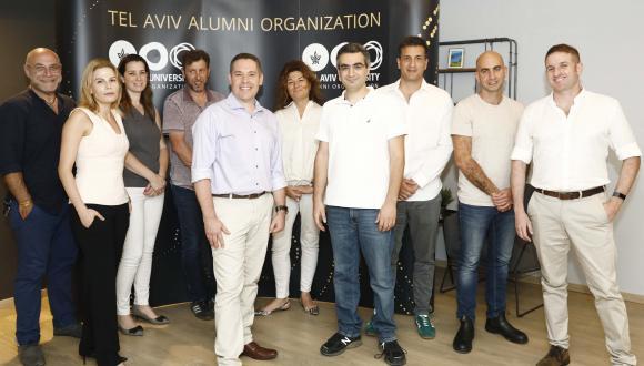 הועד המייעץ החדש של ארגון בוגרות ובוגרי אוניברסיטת תל אביב.