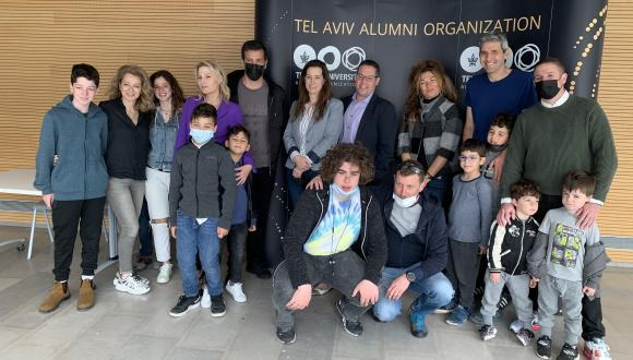 דור העתיד של בוגרות ובוגרי אוניברסיטת תל אביב