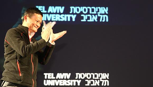 ג'ק מא במפגש עם סטודנטים ובוגרי אוניברסיטת תל אביב